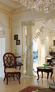 custom marble column