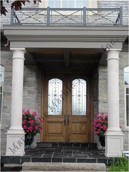 cast stone column design » Custom Column Designs for exterior of ...