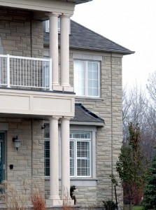 custom outdoor column