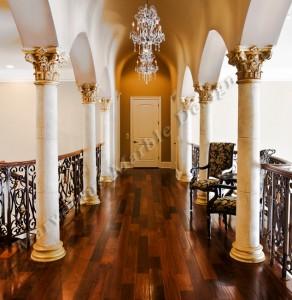 marble column design